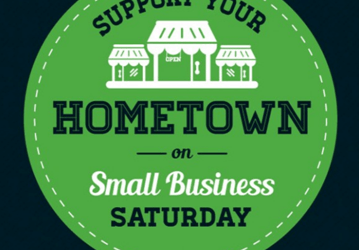 Support Your Hometown Small Business Saturday November 24