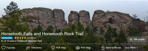 horsetooth trail