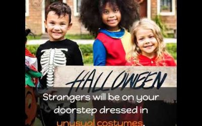 Scary Night! Halloween Pet Safety Tips Video