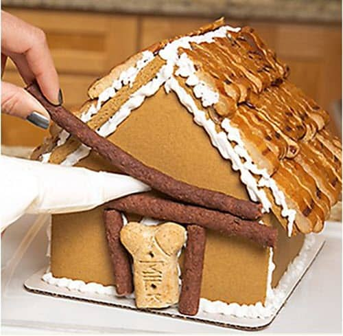 Dog Treat - Gingerbread House Recipe