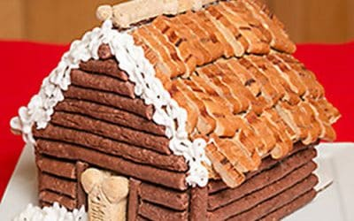 Dog Treats – a Gingerbread House Recipe for the Dogs