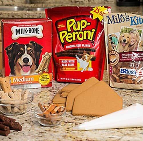 Dog Treat - Gingerbread House Recipe