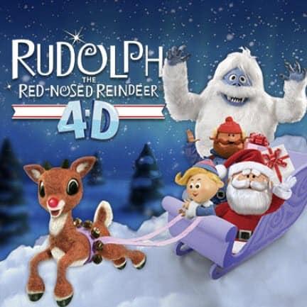 rudolph 4D at Zoo lights Denver