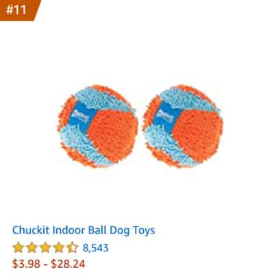 dog toy chuckit indoor balls