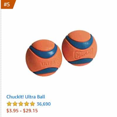 dog toy ultra ball