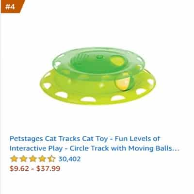 best cat toys circle ball track