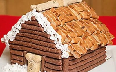 Dog Treats – a Gingerbread House Recipe for Your Dogs